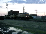 UP 5642 wb coal loads